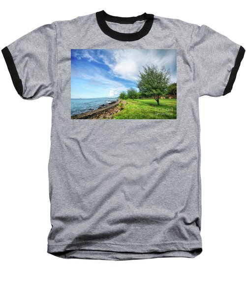 Baseball T-Shirt featuring the photograph Near The Shore by Charuhas Images