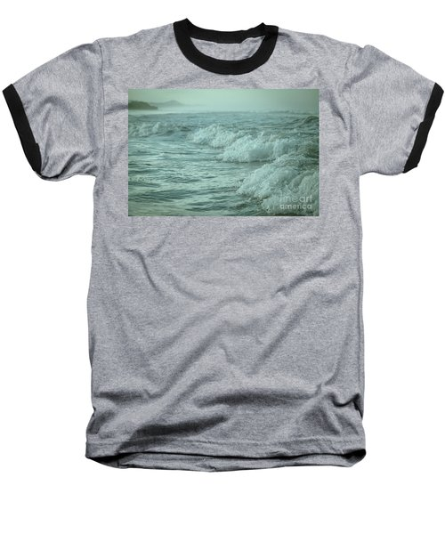 Near Waves Baseball T-Shirt by Iris Greenwell