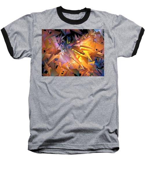 Baseball T-Shirt featuring the digital art Nearing by Ludwig Keck