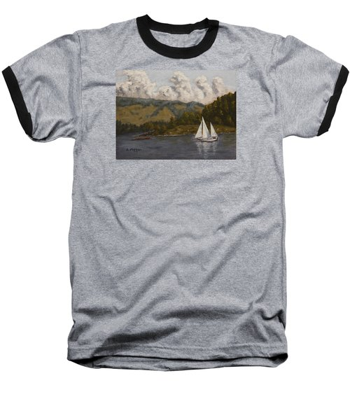 Nearing The Point Baseball T-Shirt