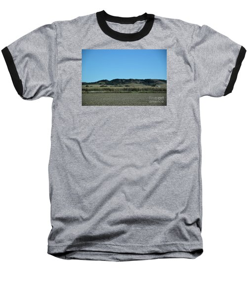 Baseball T-Shirt featuring the photograph Nebraska Corn Field by Mark McReynolds