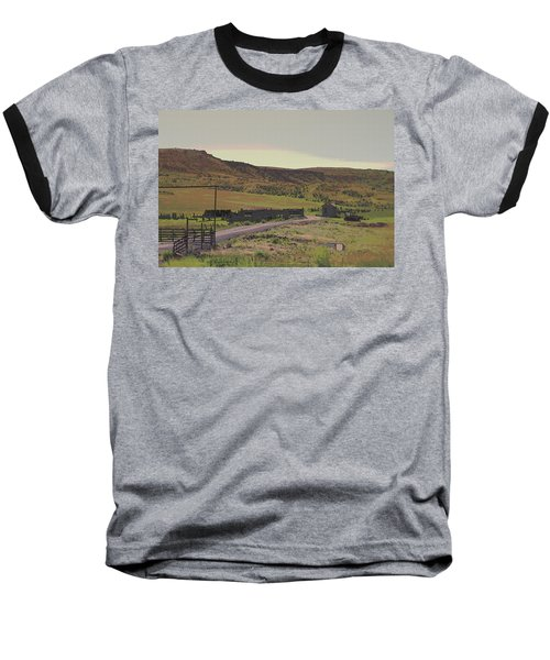 Nebraska Farm Life - The Paddock Baseball T-Shirt