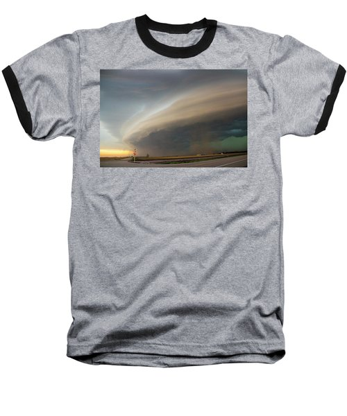 Nebraska Thunderstorm Eye Candy 026 Baseball T-Shirt