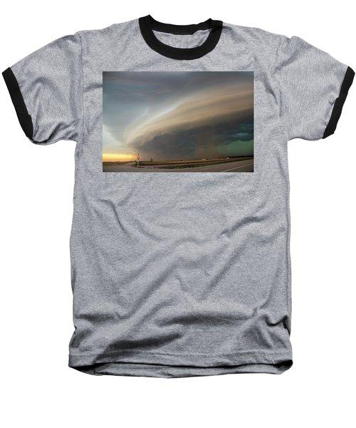 Nebraska Thunderstorm Eye Candy 026 Baseball T-Shirt