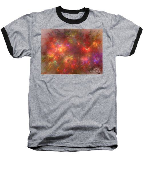 Nebula Baseball T-Shirt by Kim Sy Ok