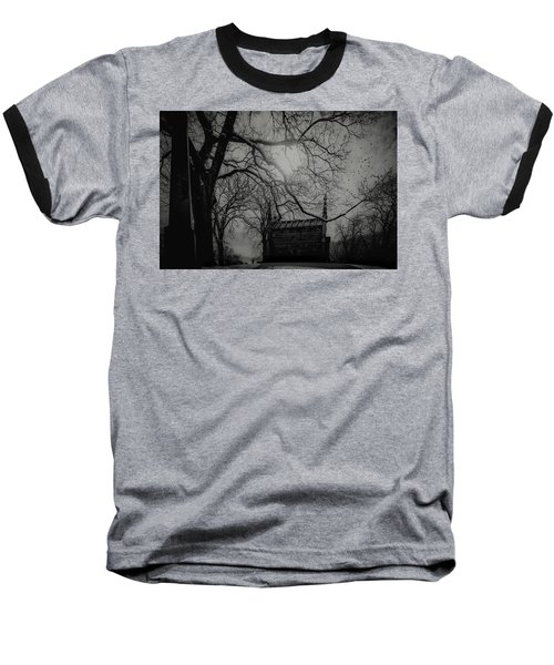 Baseball T-Shirt featuring the digital art Necropolis Nine by Chris Lord