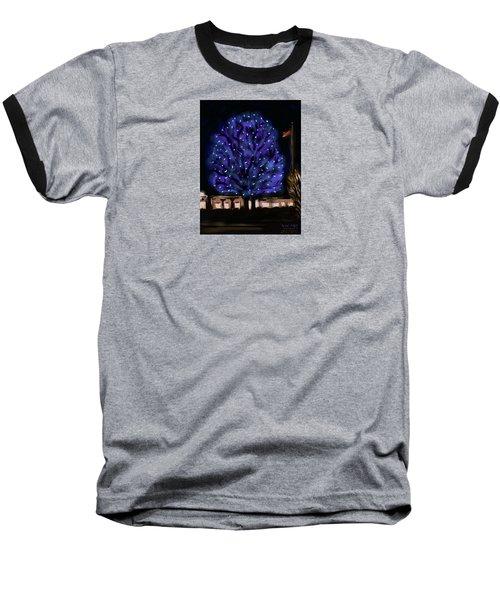 Needham's Blue Tree Baseball T-Shirt