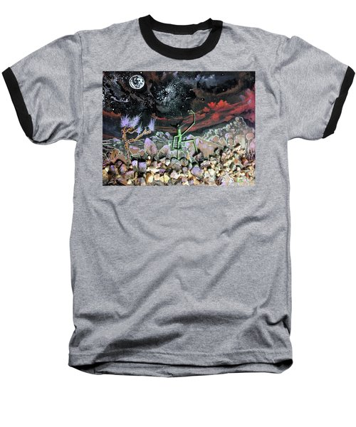 Haystack Needle Baseball T-Shirt