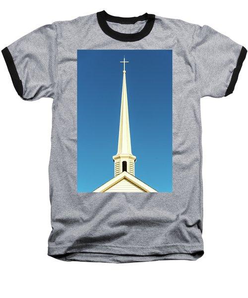 Needle-shaped Steeple Baseball T-Shirt