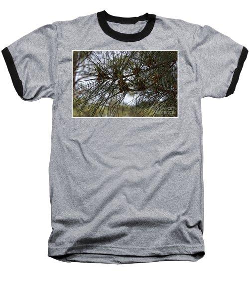 Needles Attached Baseball T-Shirt by Roberta Byram