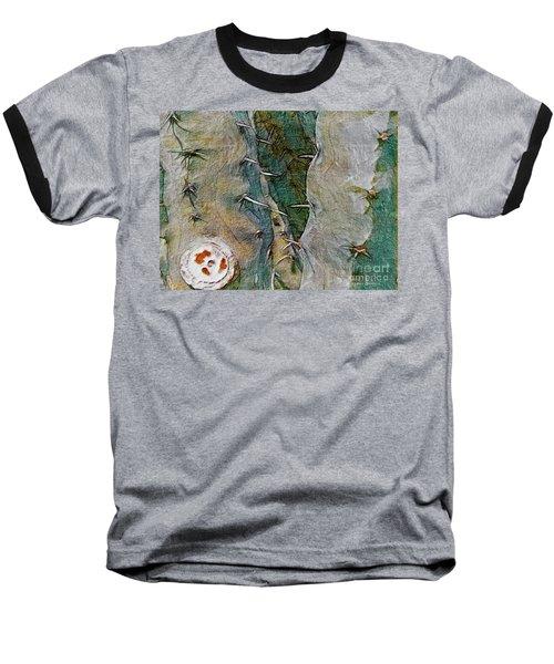 Needles In The Desert Baseball T-Shirt by Kathie Chicoine