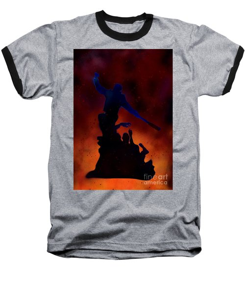 Negan Inferno Baseball T-Shirt