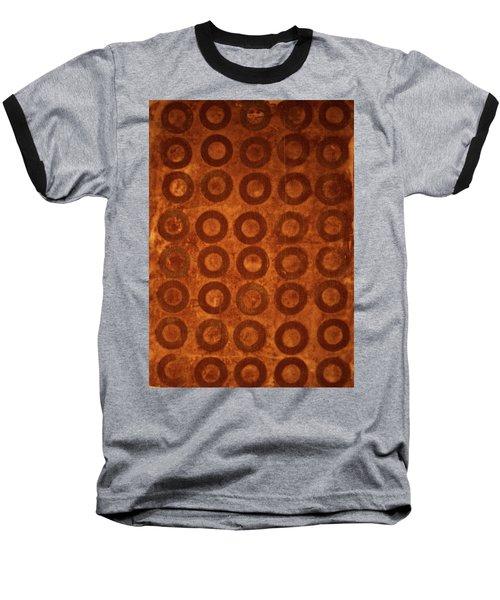 Negative Space Baseball T-Shirt by Cynthia Powell