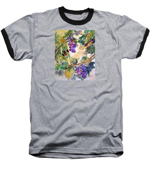 Neighborhood Grapevine Baseball T-Shirt by Kathy Braud