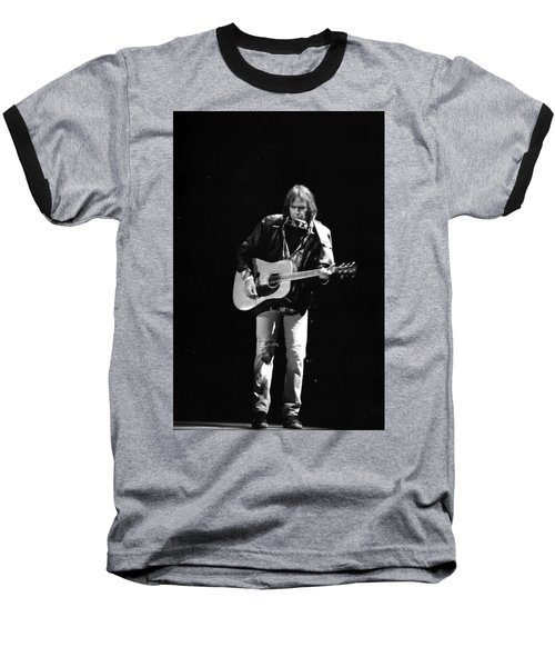 Neil Young Baseball T-Shirt