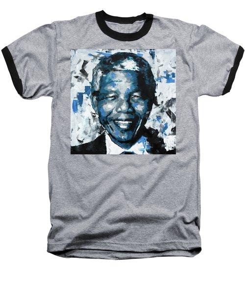 Nelson Mandela II Baseball T-Shirt