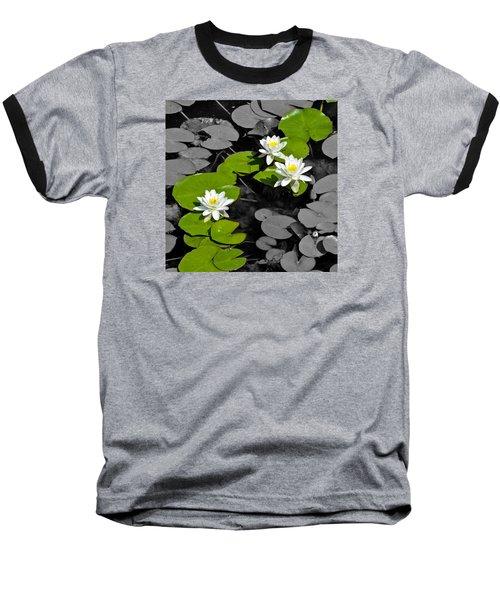 Nenuphar Baseball T-Shirt by Gina Dsgn