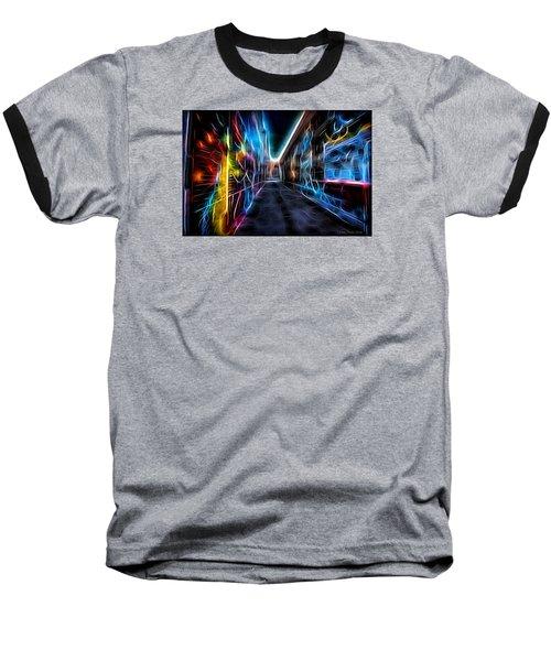 Neon Aleey Baseball T-Shirt