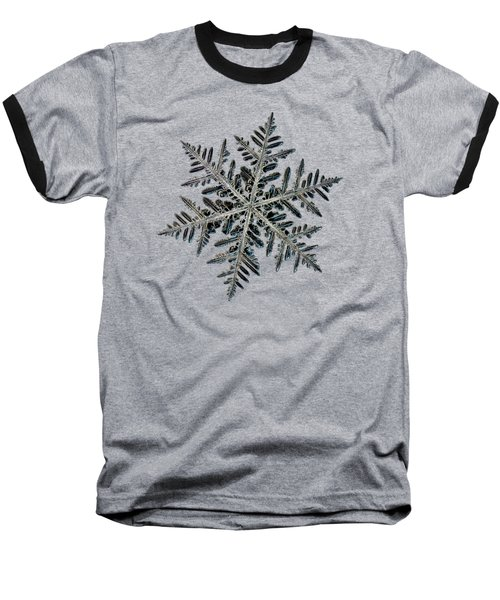 Neon, Black Version Baseball T-Shirt