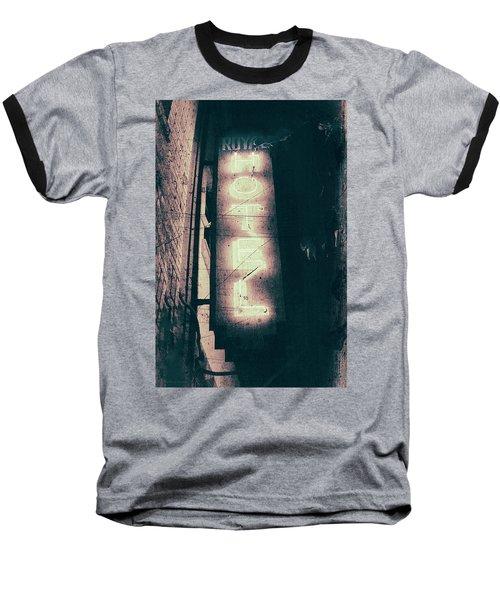 Neon Coffin Baseball T-Shirt