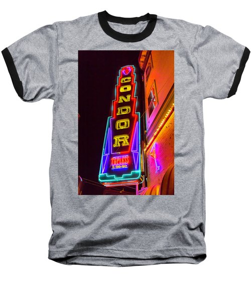 Neon Condor San Francisco Baseball T-Shirt