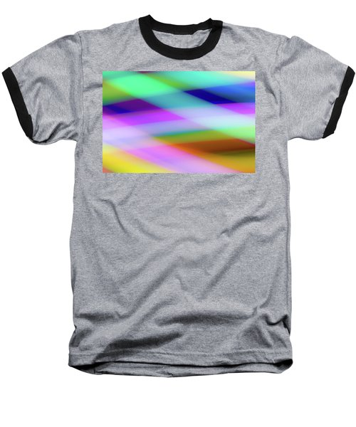 Neon Crossing Baseball T-Shirt