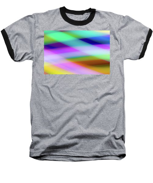 Neon Crossing Baseball T-Shirt