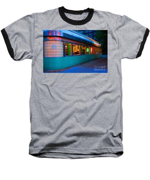 Neon Diner Baseball T-Shirt