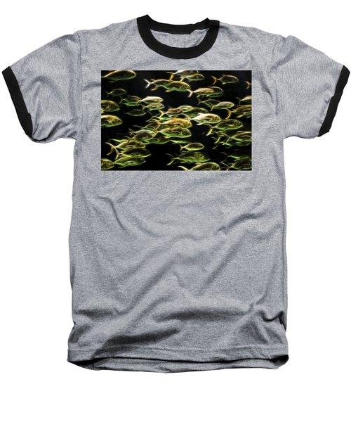 Neon Fish Baseball T-Shirt