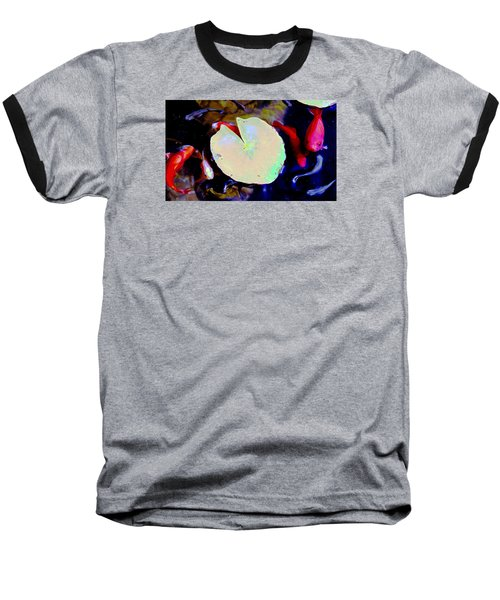 Baseball T-Shirt featuring the photograph Neon Fish by M Diane Bonaparte