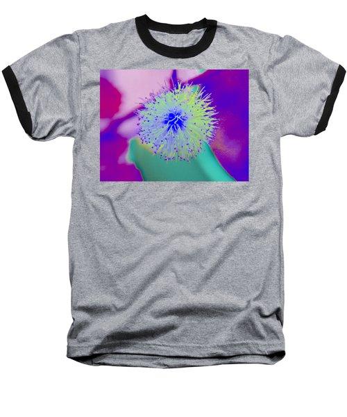 Neon Green Puff Explosion Baseball T-Shirt