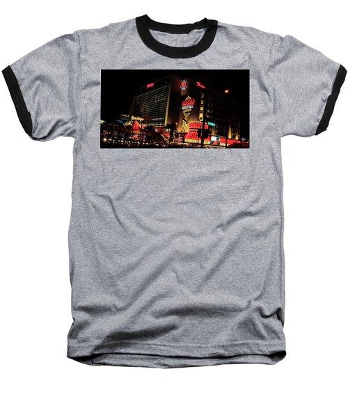 Neon Lights Baseball T-Shirt