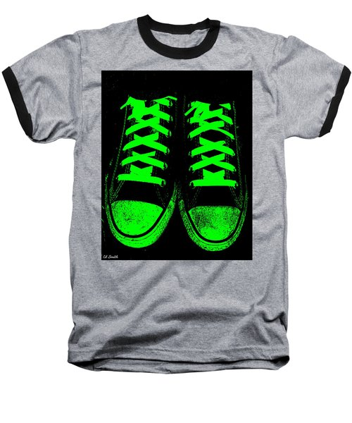 Neon Nights Baseball T-Shirt