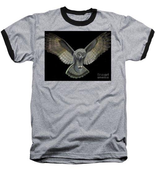 Neon Owl Baseball T-Shirt