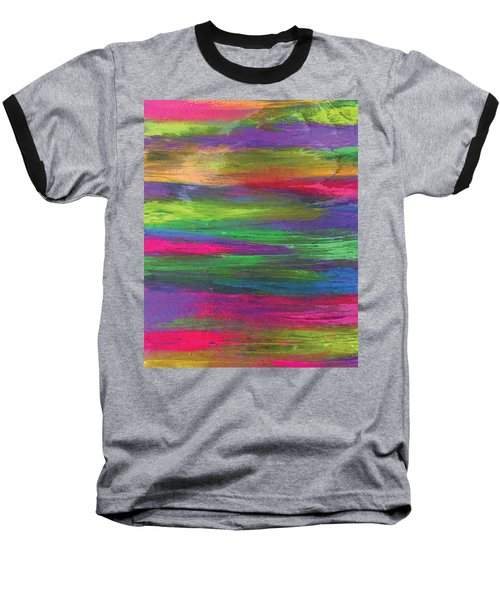 Neon Rainbow Baseball T-Shirt