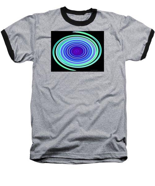 Baseball T-Shirt featuring the photograph Neon Snake by Joan Hartenstein
