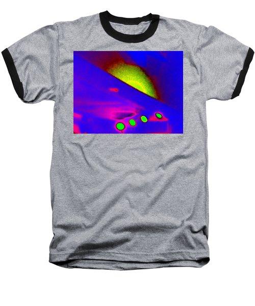 Neon Sunrise Baseball T-Shirt