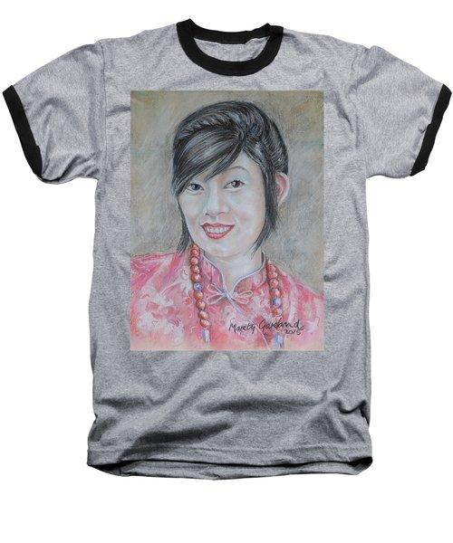 Nepal Girl 1 Baseball T-Shirt