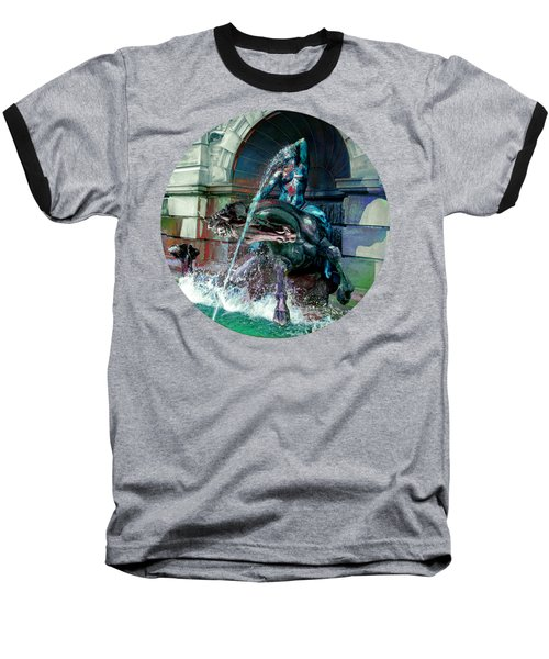 Baseball T-Shirt featuring the photograph Neptune Nymph 2 by Robert G Kernodle