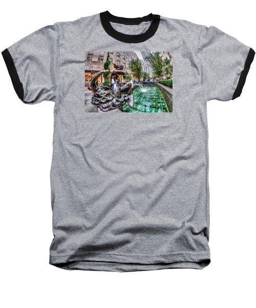 Baseball T-Shirt featuring the photograph Nereid by Rafael Quirindongo