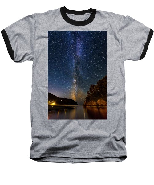 Neskowin Milky Way Baseball T-Shirt
