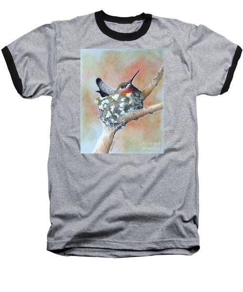 Nesting Anna Baseball T-Shirt