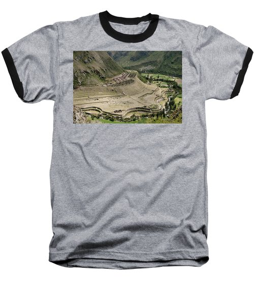 Nestled At The Foot Of A Mountain Baseball T-Shirt