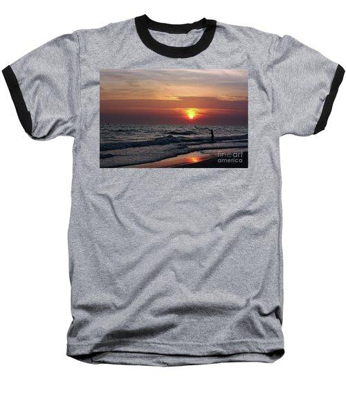 Net Casting Baseball T-Shirt
