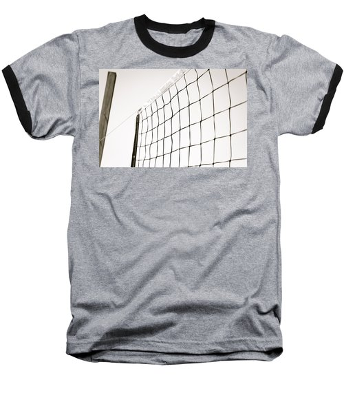 Baseball T-Shirt featuring the photograph Netted by Wade Brooks