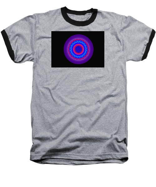 Neutral Density Mandala Baseball T-Shirt by Mike Breau