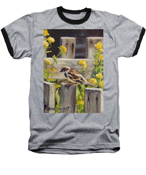 Nevada City Garden Baseball T-Shirt