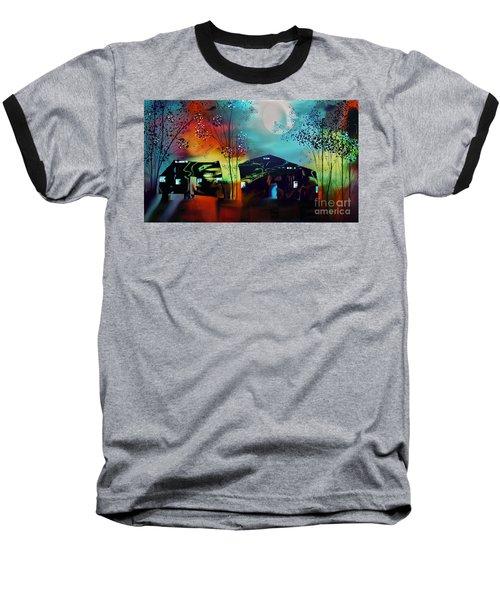 Never Alone  Baseball T-Shirt by Yul Olaivar