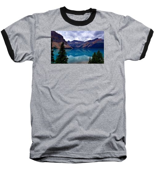 Bow Lake, Banff, Ab  Baseball T-Shirt