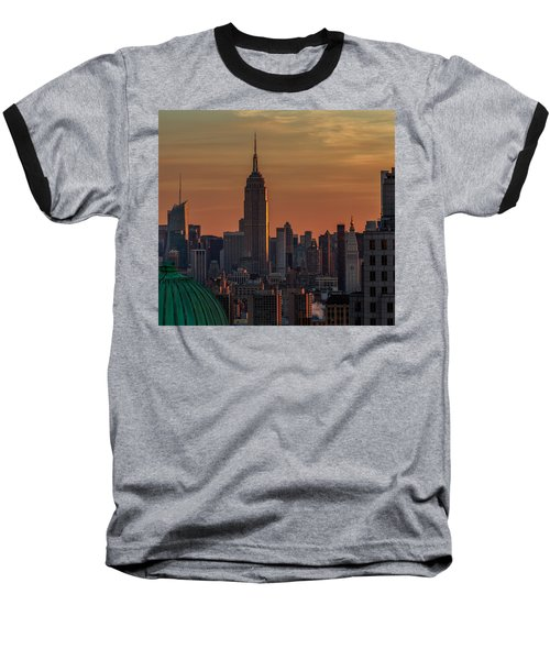 Never Give Up On Your Dreams  Baseball T-Shirt by Anthony Fields